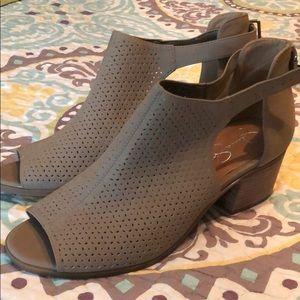 Jessica Simpson Sesame Block Heel Sandals  10